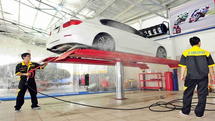 Vốn, kế hoạch kinh doanh dịch vụ rửa xe ô tô
