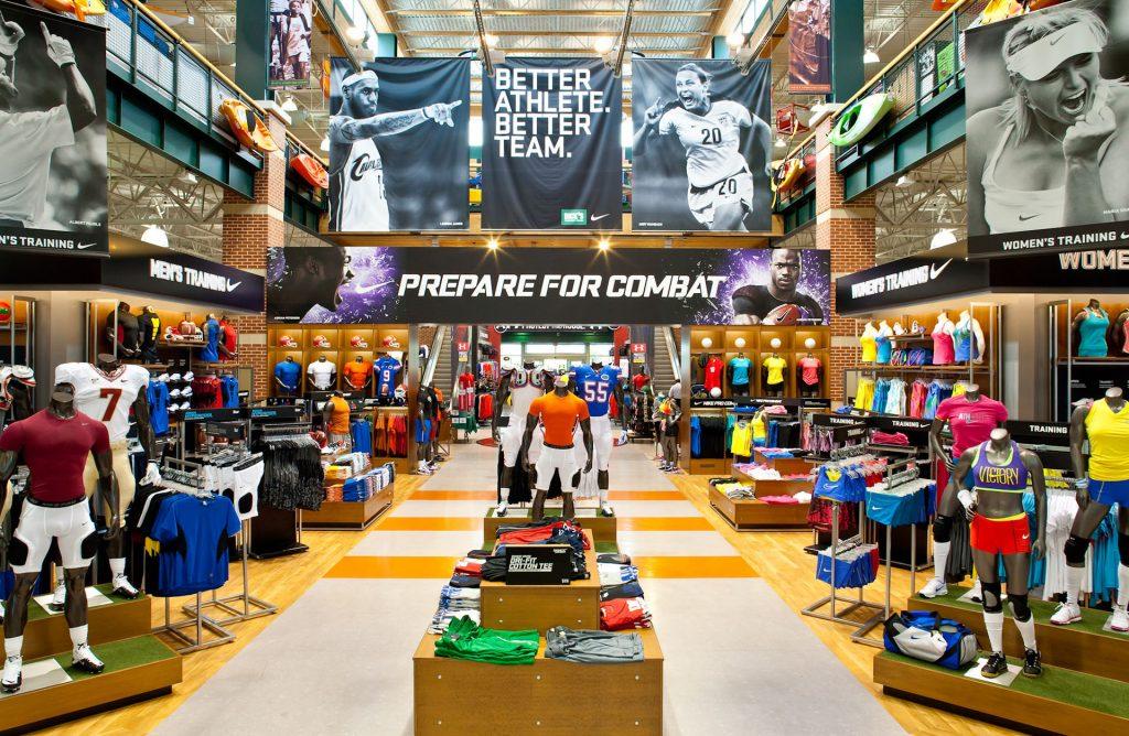 Mô hình Kế hoạch kinh doanh Quần áo giày Thể thao