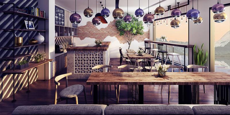 Chuẩn bị khai trương quán Cafe-Ý tưởng cho ngày khai trương