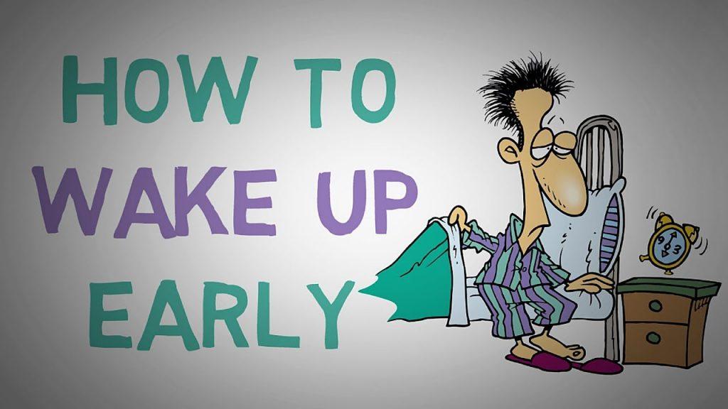Cách để ngủ dậy sớm không mệt mỏi (tràn đầy năng lượng)