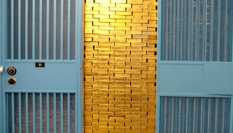Những kho vàng lớn nhất thế giới trông như thế nào?