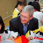 """Không muốn Iphone của mình làm """"bảo mẫu"""" cho trẻ em, Tim Cook hé hộ tính năng mới của Iphone giúp trẻ em giải phóng khỏi điện thoại"""