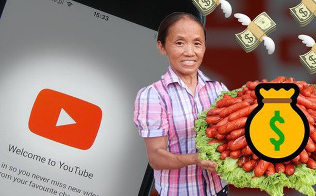 """Youtube trả tiền như thế nào và bao nhiêu mà khiến cả hội """"người cao tuổi"""" cũng phải bước vào cuộc đua người xem, tăng view kiếm tiền?"""