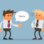Cách xin lỗi khi khách hàng phàn nàn về chất lượng hay lỗi sai của người bán