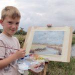 Cho con đi học vẽ lúc 6 tuổi, ý tưởng kiếm về 70 tỷ của gia đình cậu bé