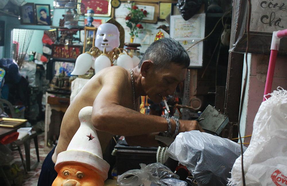 Ở Sài Gòn, Ý tưởng tạo ra giá trị của ông ấy trở thành Vua tái chế rác