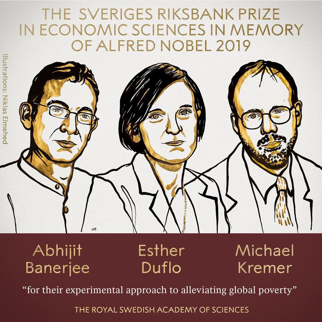 Giải Nobel Kinh tế năm 2019 nghiên cứu về lĩnh vực gì? (Định hướng kiếm tiền)