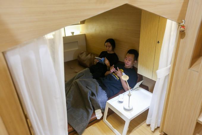 Ý tưởng kinh doanh quán Cafe có chăn, chiếu, giường, giống khách sạn Mini