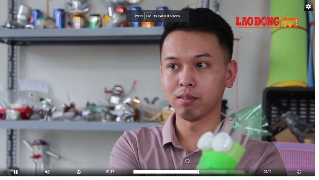 Ý tưởng làm đồ chơi mô hình từ rác thải (Hà Nội)