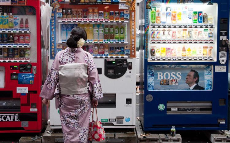 Học mô hình kinh doanh máy bán hàng tự động ở Nhật Bản