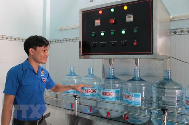 Mô hình kinh doanh nước tinh khiết thu 1 tỷ một năm