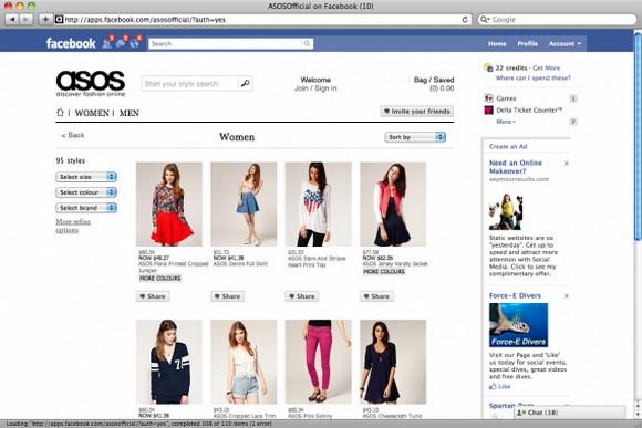Những sản phẩm dành cho nữ giới được bán chạy và nhiều hơn trên Facebook
