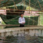 Ý tưởng làm giàu  từ quê, mô hình nuôi cá hồi trên núi thu 700 triệu