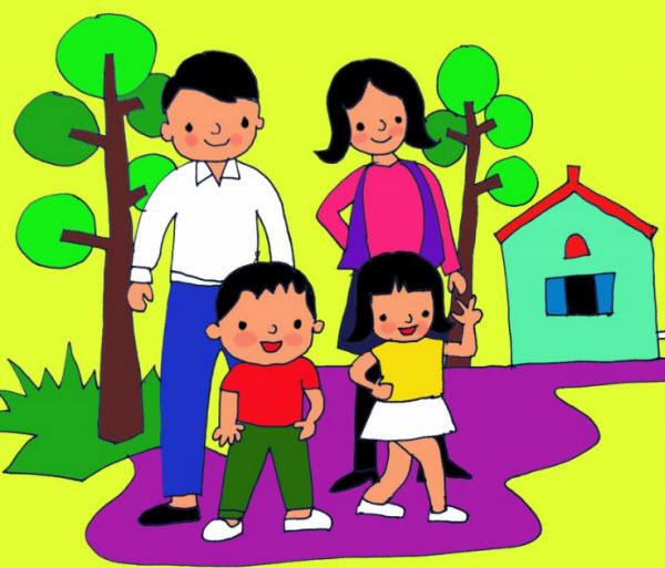 7 Ý tưởng gia đình kiểu mẫu, khi con cái được sinh ra có tương lai sáng lạn