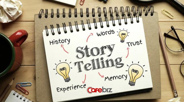Ý tưởng sử dụng cách kể chuyện để kiếm tiền