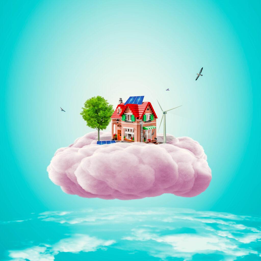 Mơ thấy đập phá Nhà cửa điềm báo là gì (Mơ thấy nhà cửa)