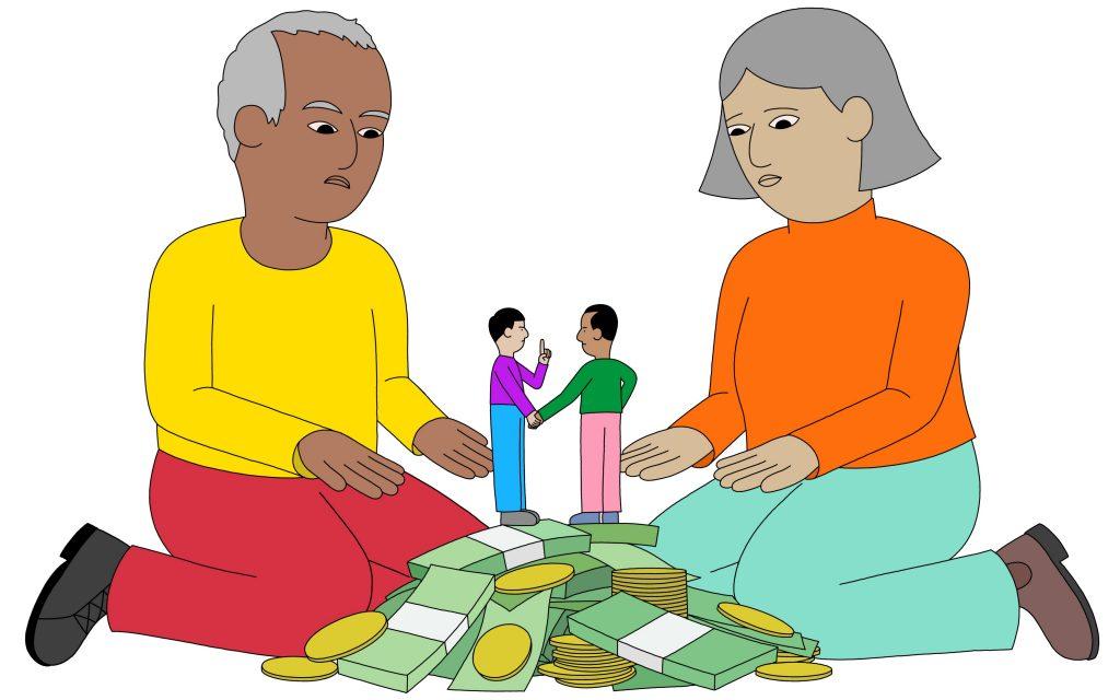 Cách xin tiền bố mẹ ông bà Tế nhị (cách để bố mẹ cho tiền)