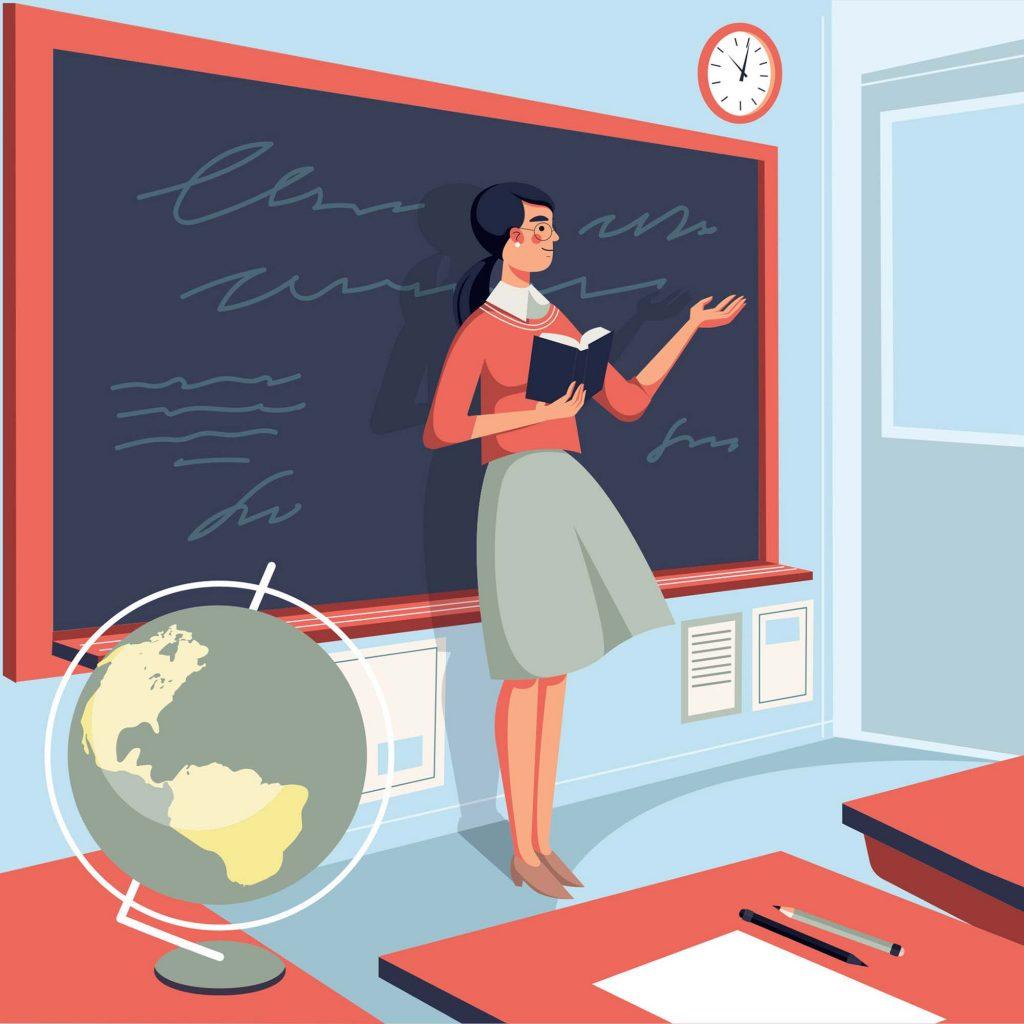 Caption Stt thả thính bằng nghề giáo viên (câu nói hay về nghề giáo giảng viên)