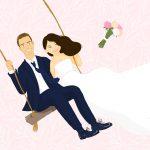 Status câu nói hay khi đăng ảnh cưới ( caption ngày cưới ý nghĩa)