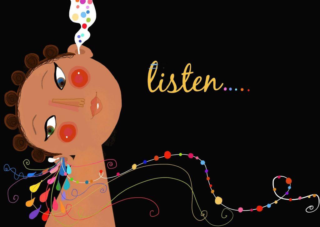 Lấy ví dụ về kỹ năng lắng nghe trong cuộc sống, học tập công việc
