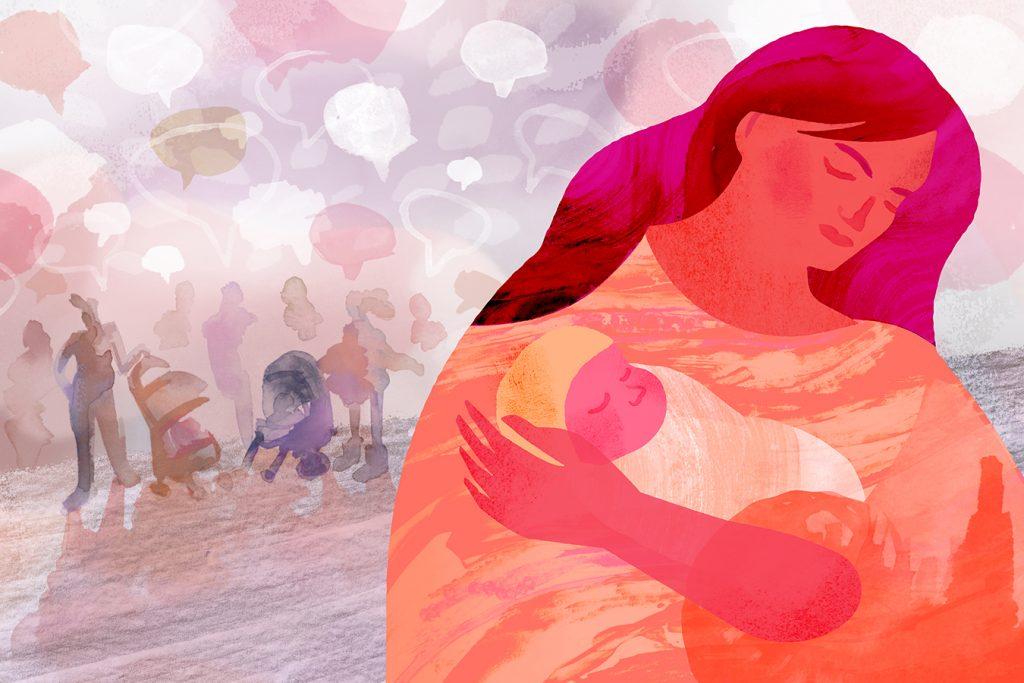 Status( câu nói hay) về bà mẹ Bỉm sữa-làm mẹ
