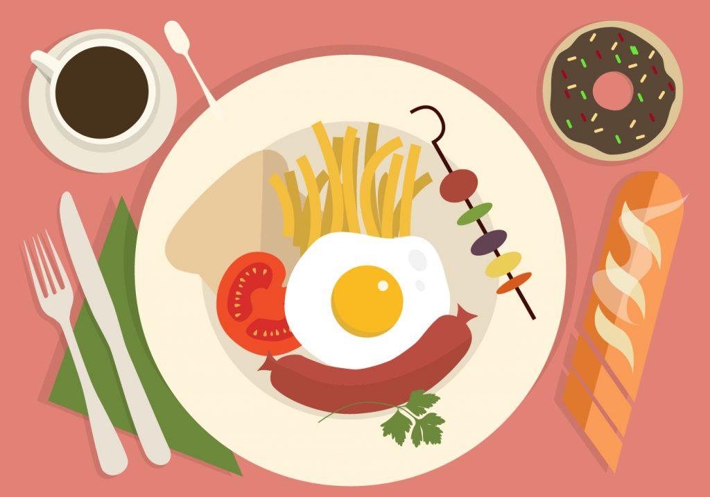 Viết đoạn văn về Bữa ăn bằng ngôn ngữ Tiếng Anh