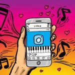 Cách đăng và tải file (đoạn) ghi âm lên Story Instagram