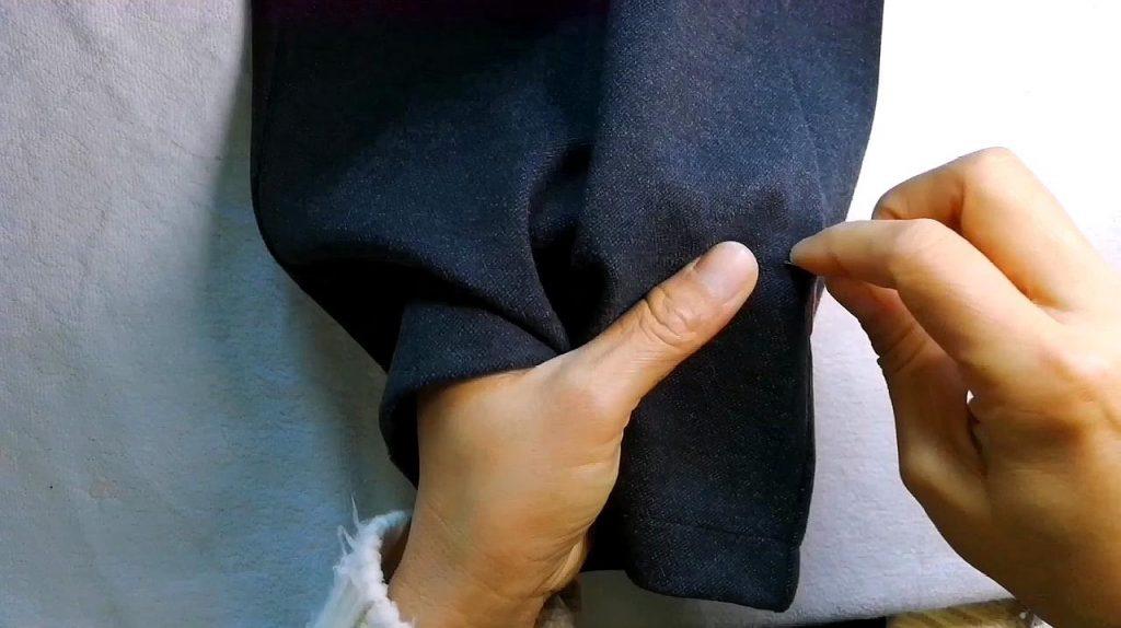 Cách sửa Quần tây (quần vải) bị rộng ống như thế nào cho đẹp