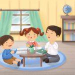 Hướng dẫn cách để dạy trẻ nhỏ điền số vào ô trống
