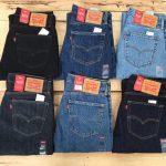 Thông tin đầy đủ về các size quần jean Levi's cho nam