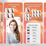 App chụp ảnh thẻ trên nền xanh chuyên nghiệp như chụp studio