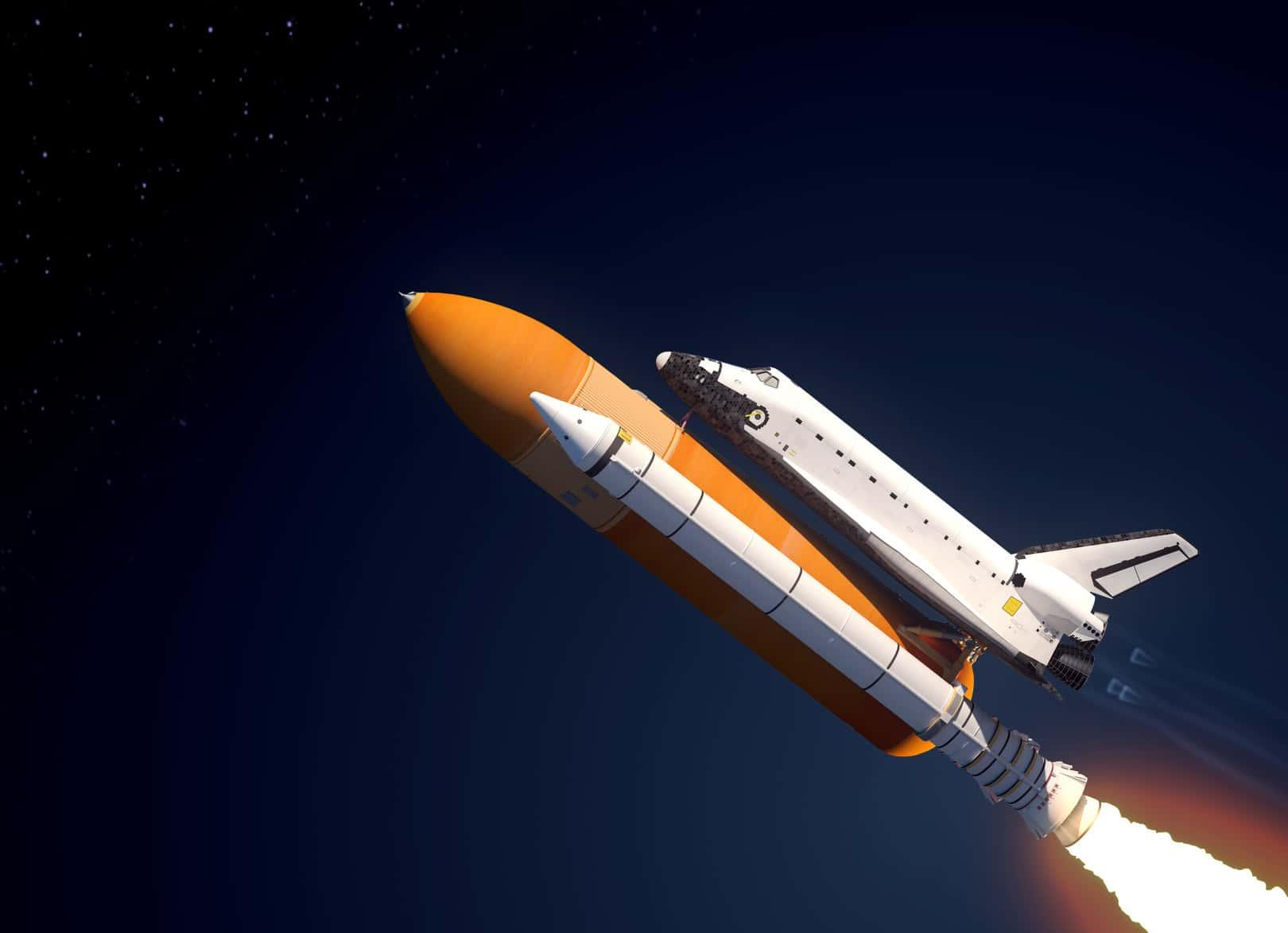 Loại tên lửa dùng để đẩy tàu vũ trụ bay vào không gian (Tàu vũ trụ bay trong không gian như thế nào)