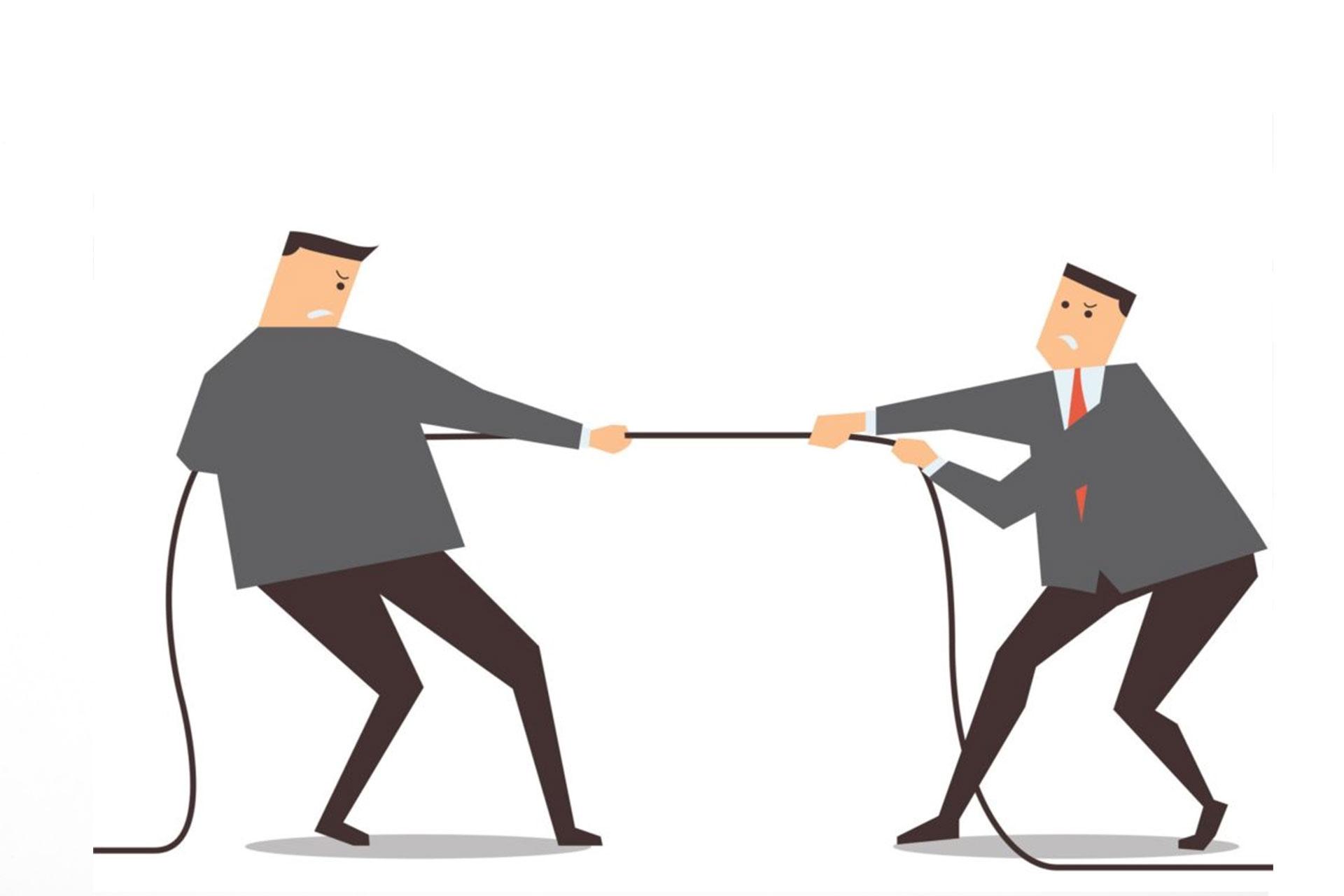 xung đột ngang và xung đột dọc (Ví dụ về xung đột ngang)